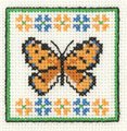 click here to view larger image of Amber Butterfly (counted cross stitch kit)