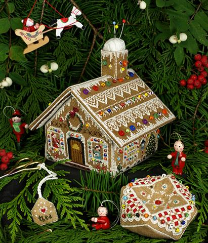 click here to view larger image of Gingerbread Stitching House Collection (chart)