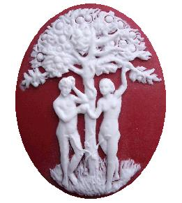 click here to view larger image of Adam and Eve Needleminder (accessory)