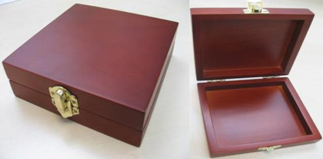 click here to view larger image of Handmade Wooden Box (accessory)