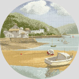 click here to view larger image of Low Tide - the Circles (counted cross stitch kit)