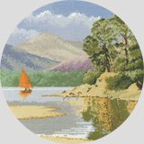 click here to view larger image of Calm Waters (counted cross stitch kit)
