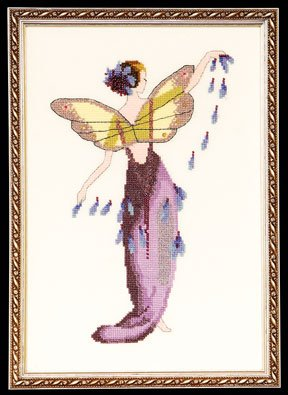 click here to view larger image of Lavender Spring Garden Pixie - Nora Corbett (chart)