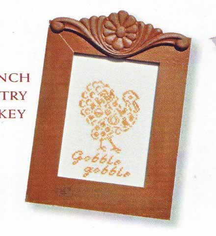 click here to view larger image of French Country Turkey (chart)