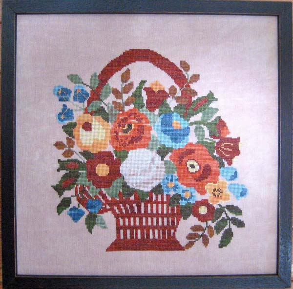 click here to view larger image of Fall Flower Basket (chart)