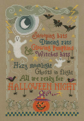 click here to view larger image of Halloween Night (chart)