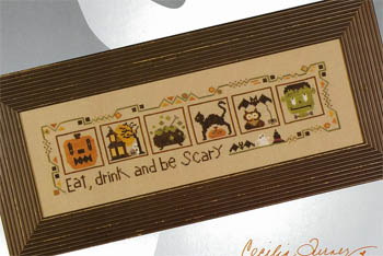 click here to view larger image of Halloween Markings - Border (chart)