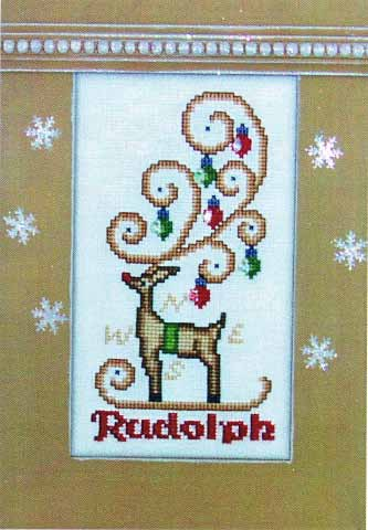 click here to view larger image of Crystal Rudolph (chart with charms/buttons)