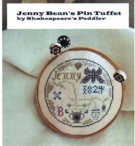click here to view larger image of Jenny Bean's Pin Tuffet (chart)