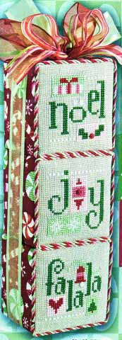click here to view larger image of 3 Blox  (counted cross stitch kit)