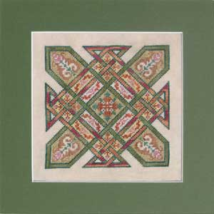 click here to view larger image of Celtic Quilts - Kentucky Chain  (chart)