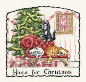 click here to view larger image of Cats Rule - Home For Christmas  (chart only) (chart)