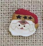 click here to view larger image of Tiny Santa (buttons)