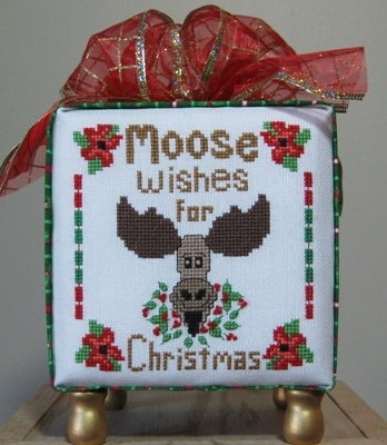 click here to view larger image of Moose Wishes for Christmas (chart)