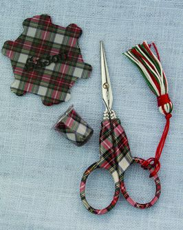 click here to view larger image of Tartan Scissors Set (accessory)