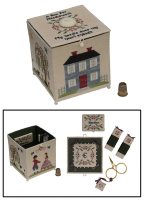 click here to view larger image of My Needle's Worke Box (chart)