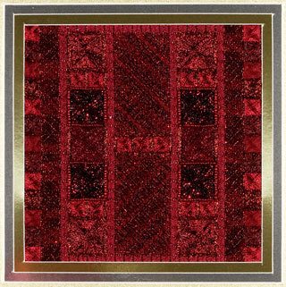click here to view larger image of Glitz & Glamour Garnet (counted canvas chart)