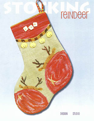 click here to view larger image of Reindeer Stocking (chart)