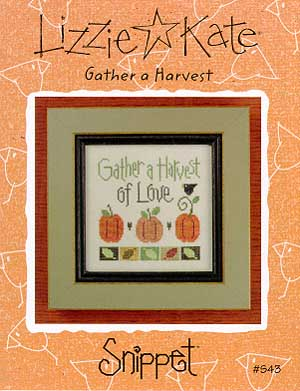 click here to view larger image of Gather A Harvest Of Love - Snippet (chart)
