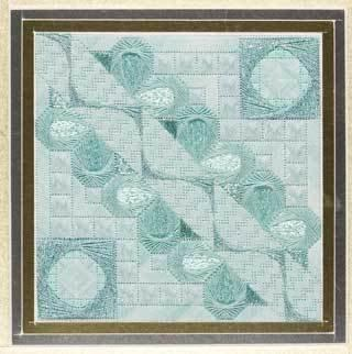 click here to view larger image of Glitz & Glamour Aquamarine (counted canvas chart)