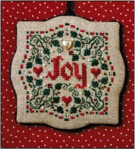 click here to view larger image of Joy (counted cross stitch kit)