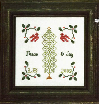 click here to view larger image of Christmas Peace & Joy (chart)