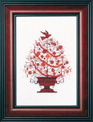 click here to view larger image of Christmas Tree 2009 (counted cross stitch kit)