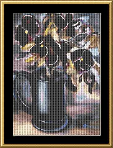 click here to view larger image of Pansies II (chart)
