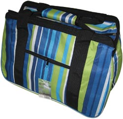 click here to view larger image of Eco Bag - Blue Stripes (accessory)