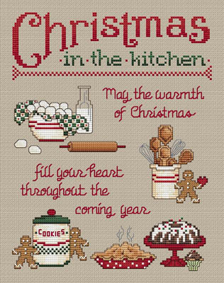 click here to view larger image of Christmas In The Kitchen (chart)