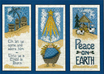 click here to view larger image of Nativity Trio (chart)