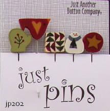 click here to view larger image of Just Pins - Pinetree (pin)
