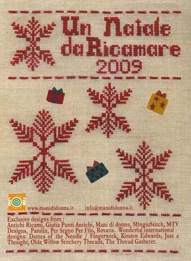 click here to view larger image of Un Natale Da Ricamare 2009 (book)