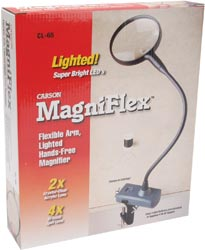 click here to view larger image of MagniFlex LED Lighted Magnifier (accessory)