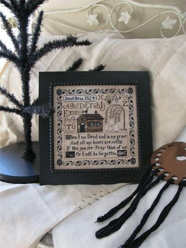click here to view larger image of Jenny Bean's Halloween Sampler (chart)