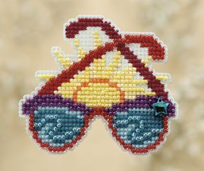 click here to view larger image of Shades (counted cross stitch kit)