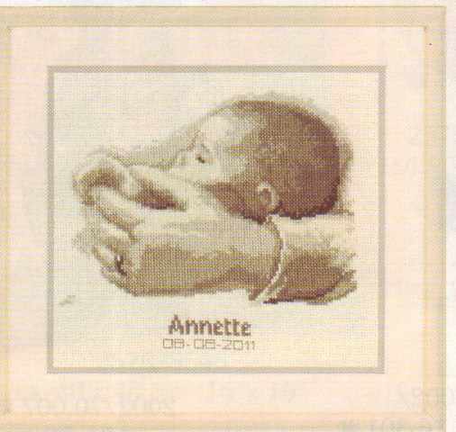 click here to view larger image of Annette (counted cross stitch kit)