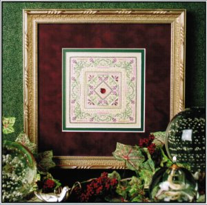 click here to view larger image of Enchanted Roses (counted cross stitch kit)