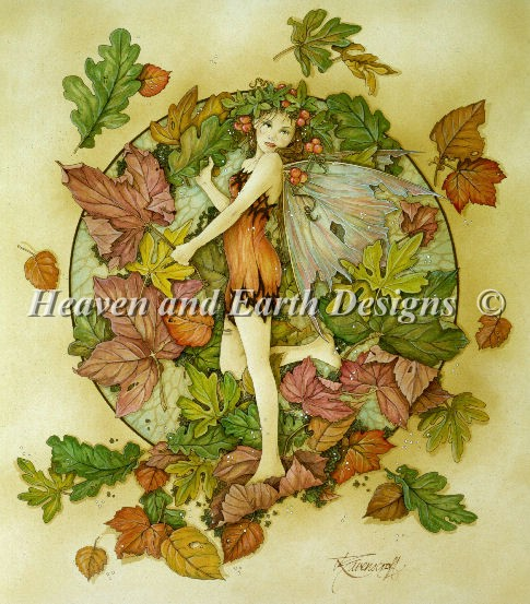 click here to view larger image of Autumn Leaf Fairy (chart)