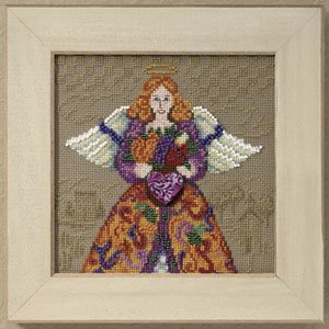 click here to view larger image of Fall Angel 2010 (counted cross stitch kit)