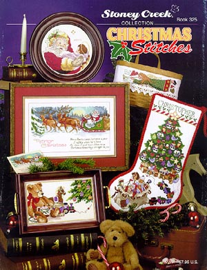 click here to view larger image of Christmas Stitches (book)