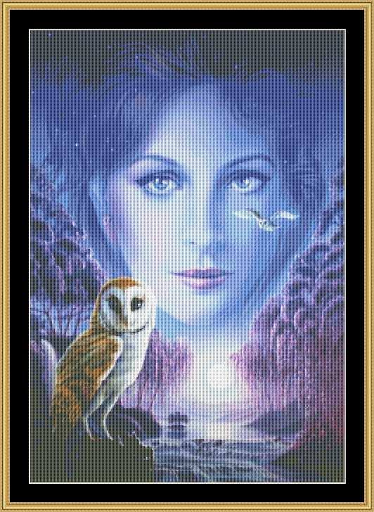 click here to view larger image of New Age Owl Girl (chart)