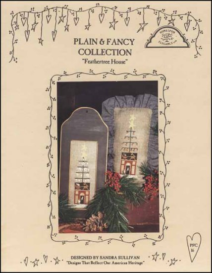 click here to view larger image of Feathertree House - Plain & Fancy Collection (chart)