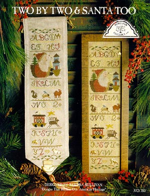 click here to view larger image of Two By Two & Santa too (chart)
