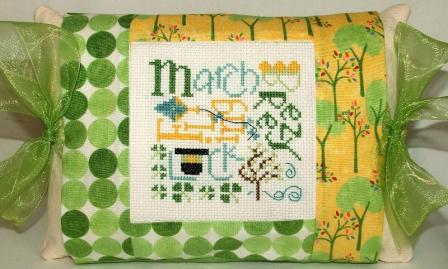 click here to view larger image of March Expressions (counted cross stitch kit)