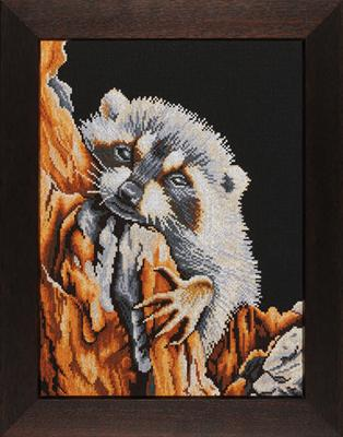 click here to view larger image of Racoon (counted cross stitch kit)
