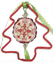 click here to view larger image of Jingle Bell Ornament Kit (counted cross stitch kit)