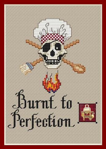 click here to view larger image of Burnt To Perfection (chart)