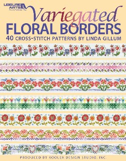 click here to view larger image of Variegated Floral Borders (book)