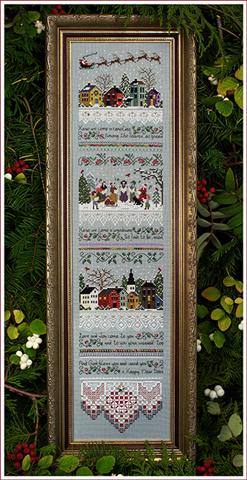 click here to view larger image of Carol Singers Sampler (chart)